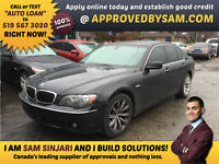 BMW 7-Series 750i - Excellent Terms & Rates for Bad Credit.