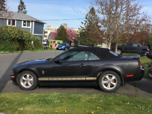 2008 Ford Mustang Convertible with Pony Package