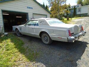 1977 Lincoln Mk V - Cartier Edition