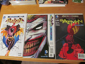 "Batman ""Death of A Family"" with all tie-ins Joker Batgirl New 52"