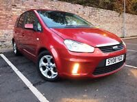 2008 FORD C-MAX 1.8 TDCI ZETEC LONG MOT CHEAP TO RUN [not s-max altea c4 picasso zafira galaxy]