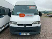 2001 Peugeot Boxer 2.8 HDi High Roof Motor home High Volume/High Roof Motorhome