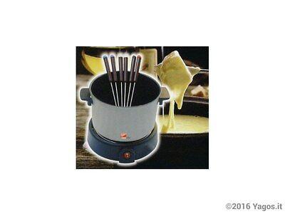 Set fonduta fondue formaggio 8pz elettrica 400W