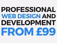 Cheap Web, Logo and Website Design, WordPress CMS Developer Bespoke Designer, PHP and JS Development
