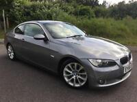 2006 A BMW 3 SERIES 3.0 335I SE 2D AUTO 302 BHP, GREY METALLIC, GENUINE 114K
