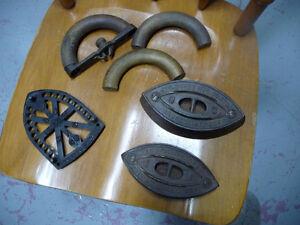 Fer à repasser Antique Fabriquer en Ontario