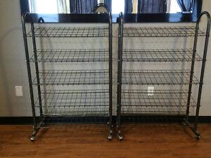 2 Metal Shoe Racks Stratford Kitchener Area image 2