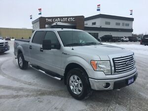 2010 Ford F-150 XLT 4x4 SuperCrew Cab 5.5 ft. box