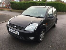 Ford fiesta breaking for spares or full car less wheels £150
