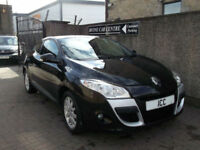 10 10 RENAULT MEGANE 1.6 16V COUPE SPORT 3DR BLACK ALLOYS LOW MILEAGE A/C CRUISE