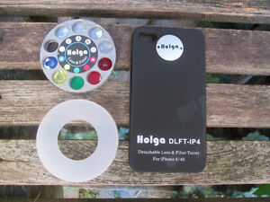 Holga Detachable Lens and Filter Turret DLFT-IP4 for iPhone 4/4S London Ontario image 4
