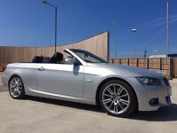 BMW 3 SERIES M SPORT CONVERTIBLE ONLY 53000 MILEAGE