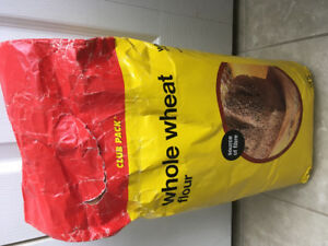 Free bag of flour for crafts