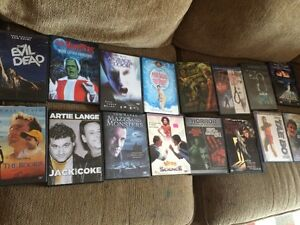 Mega collection of random Horror and intereting DVD collection