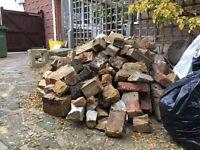 Hardcore, bricks, ballast, concrete rubble for free
