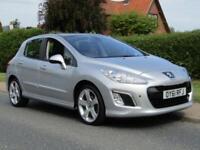 2011 Peugeot 308 1.6 e HDi 112 ALLURE 5DR TURBO DIESEL HATCHBACK ** 36,000 MI...