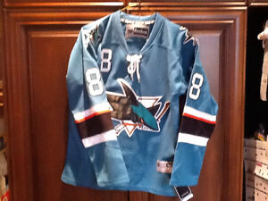 San Jose Sharks youth Burns jersey