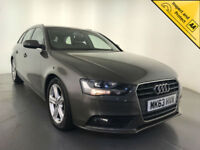 2013 AUDI A4 TECHNIK TDI DIESEL ESTATE LEATHER INTERIOR 1 OWNER SERVICE HISTORY