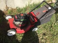 Free. Gas lawn mower. No more gas left to use