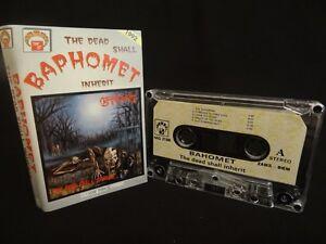 BAPHOMET The Dead Shall Inherit MC, CASSETTE (EX) - Olsztyn, Polska - Zwroty są przyjmowane - Olsztyn, Polska