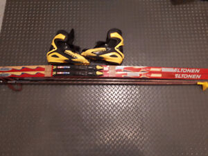 Cross Country racing ski,boots and poles for sale