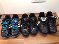 Boys football boots UK size 2