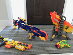 Nerf Guns For Sale - Vulcan, Longshot, and more!