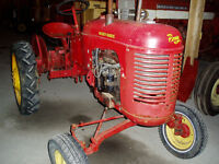 Tracteur Pony Massey-Harris
