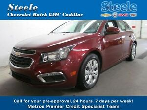 2015 Chevrolet CRUZE 1LT One Owner with only 17km's