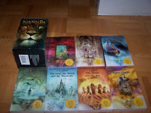 The Chronicles of Narnia - boxed Set - 7 books by C. S. Lewis