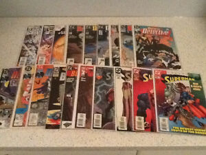 Comic books, xmen, batman, superman, authority etc.