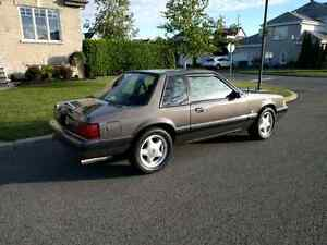 Ford mustang Lx 5.0L notchback 1990