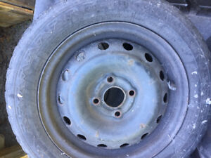 4 steel rims for sale