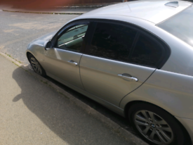 Bmw 320d silver really good condition