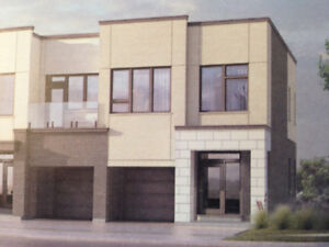 Brand New Freehold Townhouse Available for Rent in Oakville.