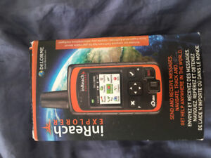 delorme inreach never used or activated new in box