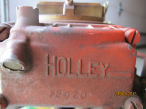 HOLLEY CARBUERATOR   650----4 barrel