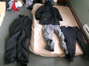 ski outerwear items  50$ each pants and 80$ jacket