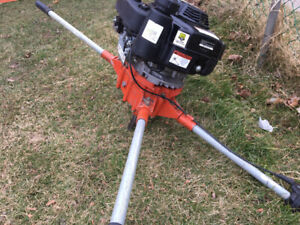 Two man auger /post hole digger/earth auger with 2 bits+ extensi