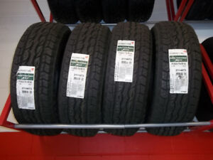 SET OF ALL SEASON NEW TIRES 265/70/R18