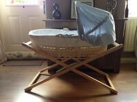 Mother Care Moses basket with stand