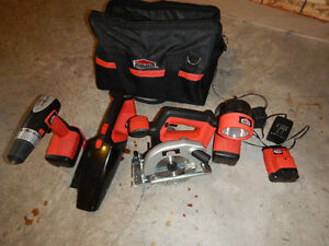 Job Mate - 4 Piece 18V set