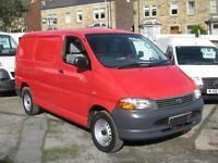 2004 TOYOTA HIACE 280 SWB 2.5 D4 D Turbo Diesel Van 88ps