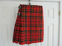 Men's Kilt, Jacket, Vest, Sporran and Belt