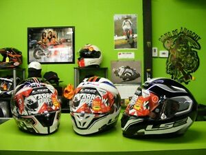 LS2 - Arrow - Race Division Helmet - XS to Large at RE-GEAR