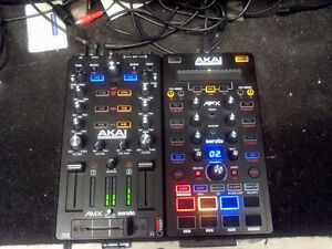 AKAI AMX/AFX Serato 2 units Mixer and effects controller