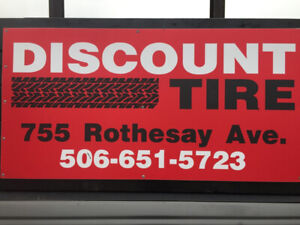 DISCOUNT TIRE ROTHESAY AVE. SAINT JOHN