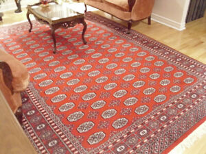 "Stunning ""Bokhara"" Area Rug, paid $3,000+ MAKE AN OFFER"