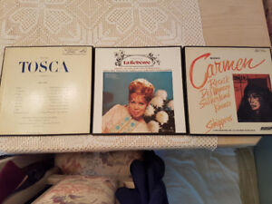 Three opera record box sets