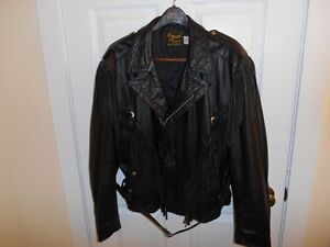LADIES LEATHER MOTORCYCLE JACKET------Reduced for Sale